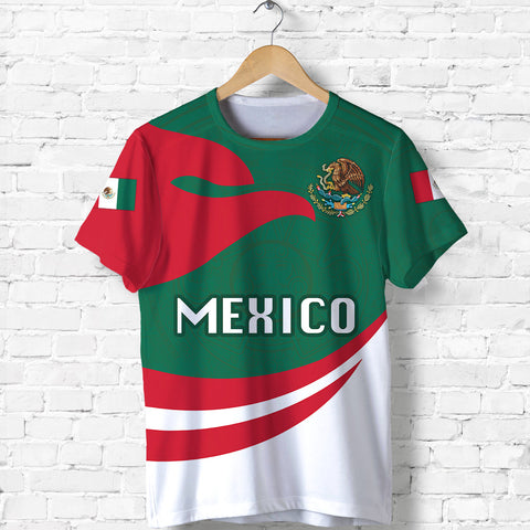 Image of Mexico T-shirt Proud Version Front | 1sttheworld