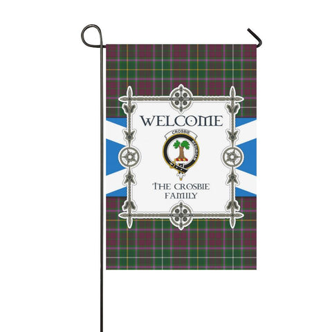 Image of Crosbie Tartan Garden Flag - New Version K7 |Home Decor| 1sttheworld