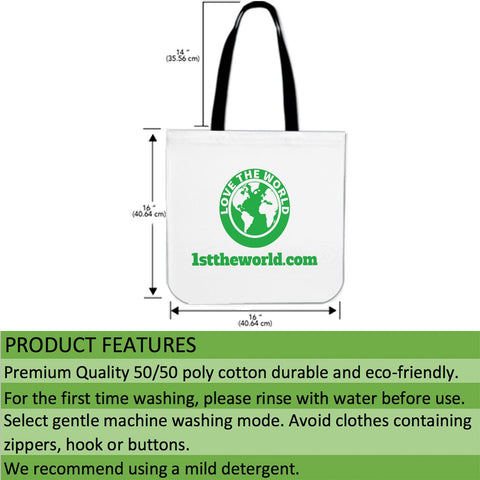 Image of New zealand stamp tote bag 3 K5