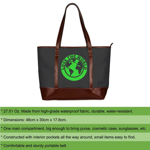 New Zealand Fern Tote Handbag A9