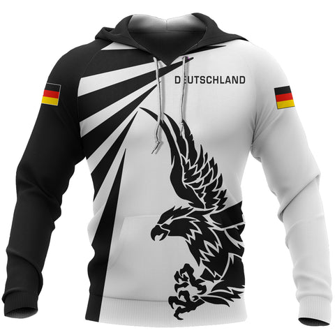 Image of Germany Hoodie Eagle - Tornado Style
