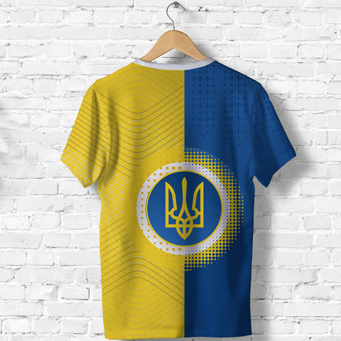 Ukraine T Shirt Special Coat Of Arms Back | 1sttheworld