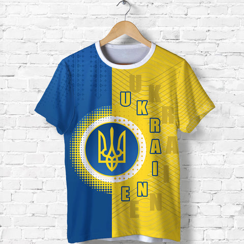 Ukraine T Shirt Special Coat Of Arms Front | 1sttheworld