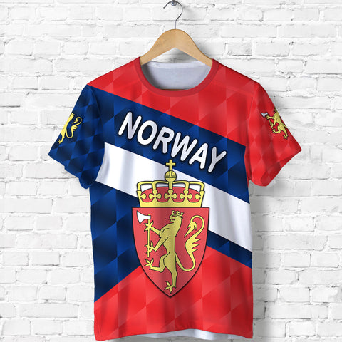 Norway T Shirt Sporty Style K8