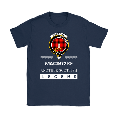 MacIntyre Scottish Legend T-shirt And Hoodie A9