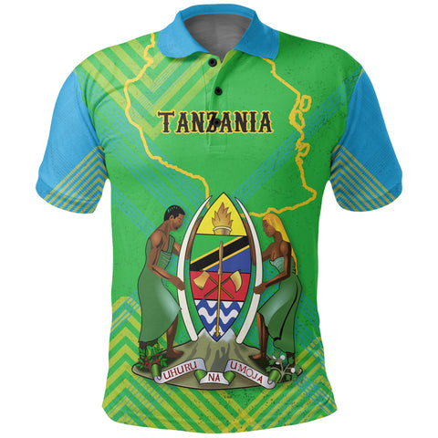 Tanzania Mix Polo Shirt K5
