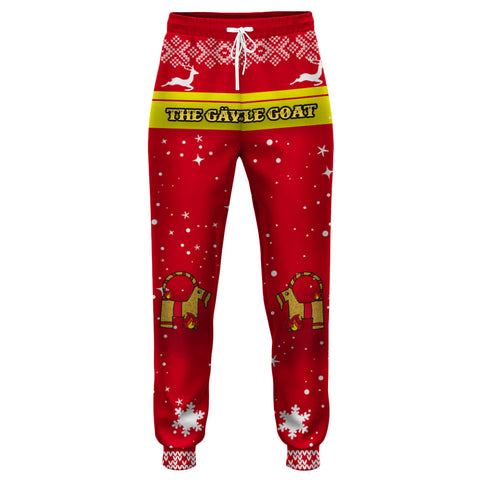 Image of Products The Gävle goat Jogger Paint Christmas Style