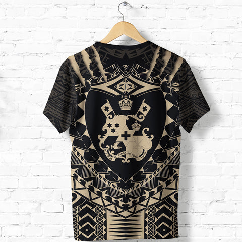 Image of Tongan Tattoo - Tongan Coat Of Arms T Shirt K5