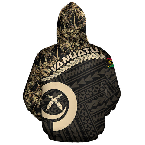 Image of Vanuatu Zip Hoodie Golden Coconut A02