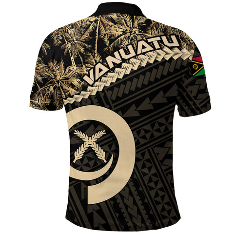 Image of Vanuatu Polo Shirt Golden Coconut A02