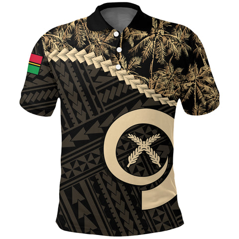 Vanuatu Polo Shirt Golden Coconut | Clothing | Love The World