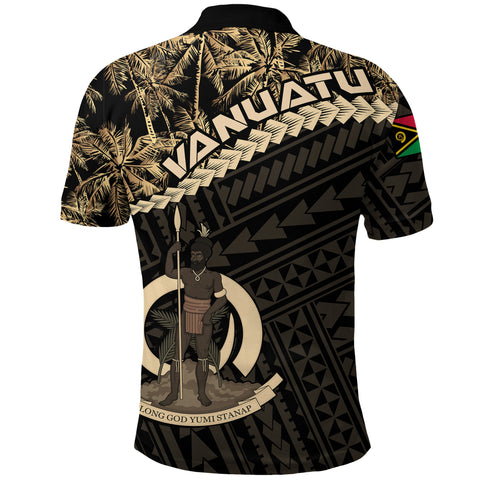 Image of Vanuatu Polo Shirt Golden Coconut 01 A02