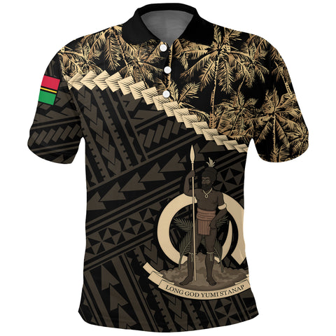 Vanuatu 1 Polo Shirt Golden Coconut | Clothing | Love The World