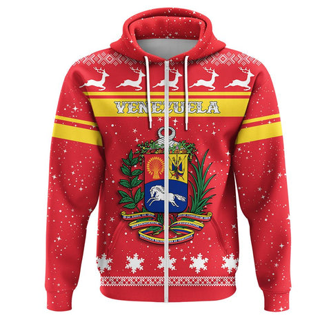 Venezuela Coat Of Arms Zip Hoodie