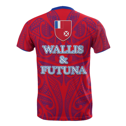 Image of Wallis And Futuna T-Shirt - Wing Style back