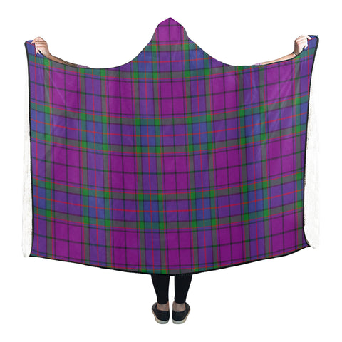 Image of Wardlaw Tartan Hooded Blanket - BN
