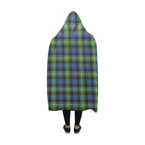 Watson Ancient Tartan Hooded Blanket - BN