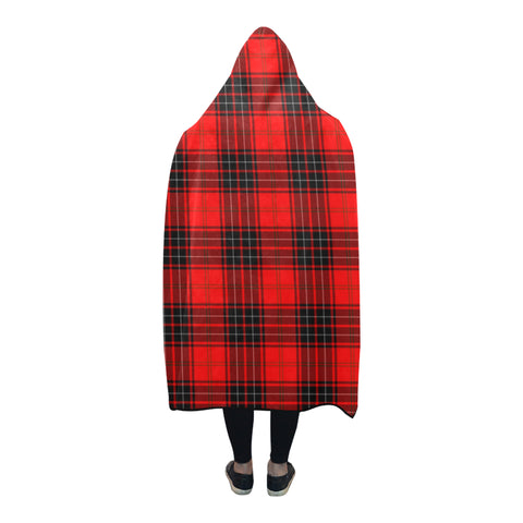Image of Wemyss Modern Tartan Hooded Blanket - BN