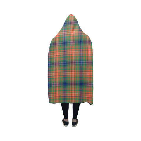 Wilson Ancient Tartan Hooded Blanket - BN