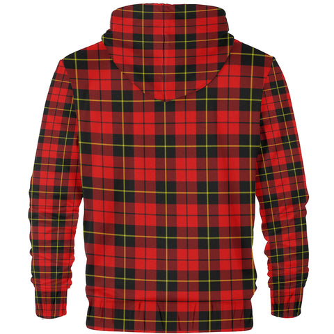 Wallace Clan Tartan Zip Hoodie | Men & Women | Clothing
