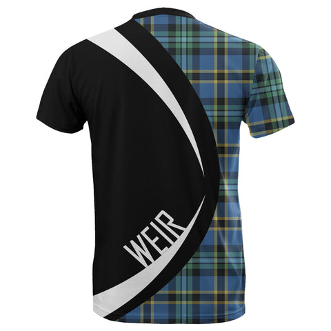 Image of Tartan Clan Crest T-shirt