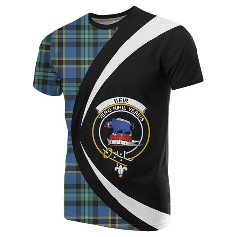 Image of Weir Ancient Tartan T-shirt Circle