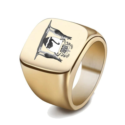 Image of West Virginia Coat Of Arms Signet Ring