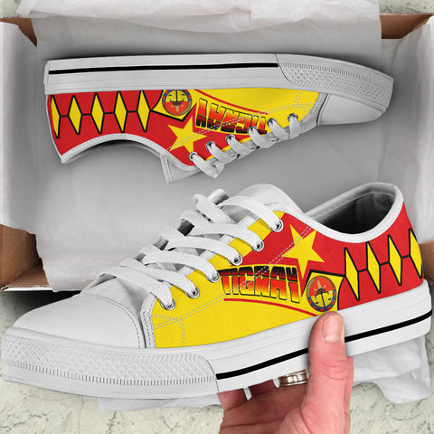 Tigray Low Top Shoes - Tigray In My DNA (Yellow) - BN21