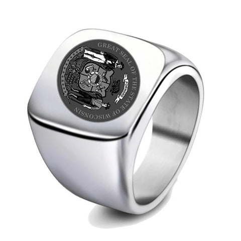 Image of Wisconsin Signet Ring