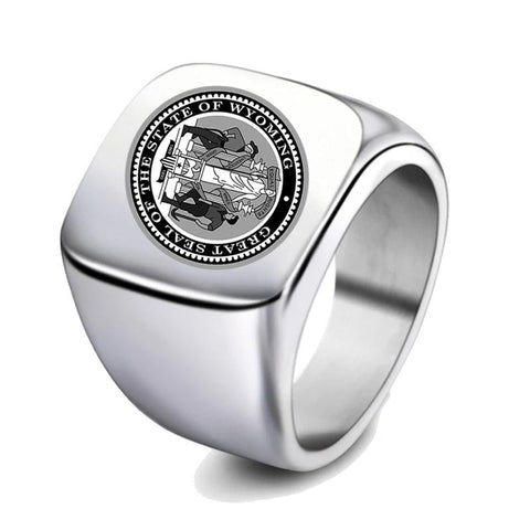 Wyoming Signet Ring