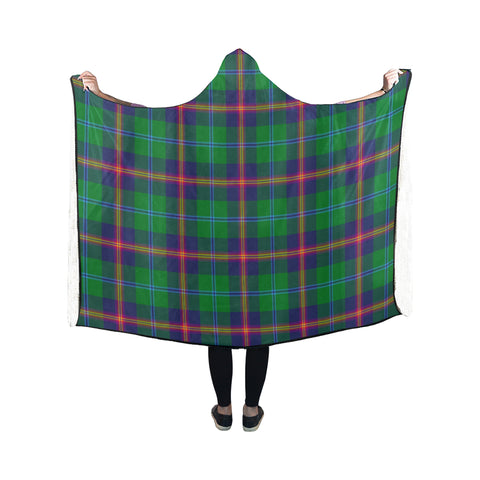Young Modern Tartan Hooded Blanket - BN