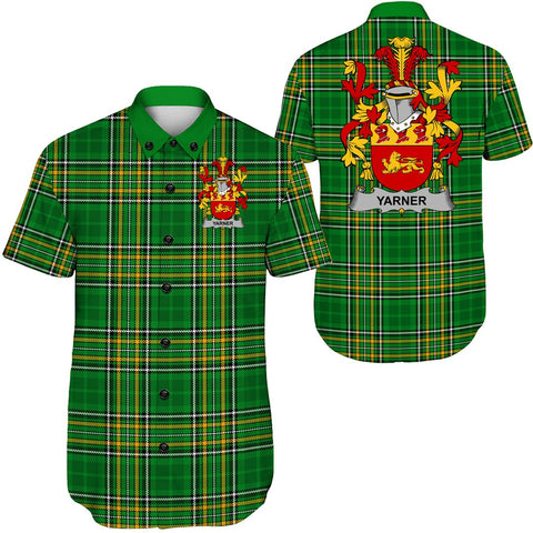 Yarner Ireland Short Sleeve Shirt - Irish National Tartan A7