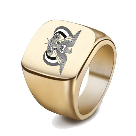 Yemen Coat Of Arms Signet Ring