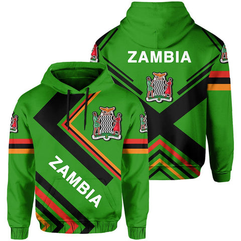 Zambia Flag Hoodie - Africa Nations