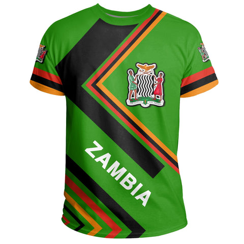 Image of Zambian Flag T-Shirt - Africa Nations