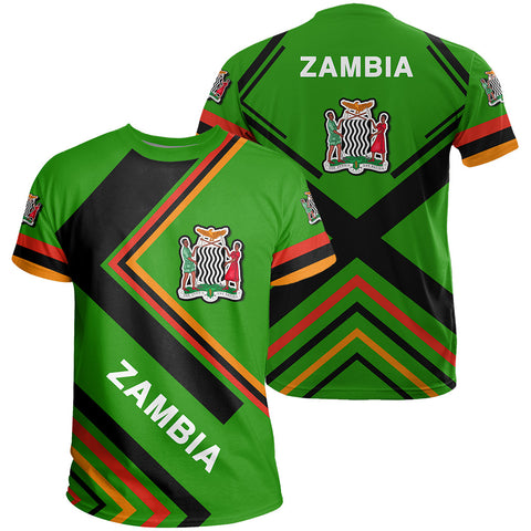 Zambia Flag T-Shirt - Africa Nations