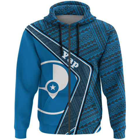 Yap Zip Hoodie - Polynesian Coat Of Arms| Love The World