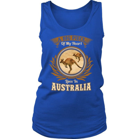 A Big Piece Of My Heart Live In Australia Shirt T-Shirts