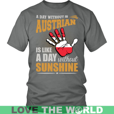 Image of A Day Without An Austrian G2 Gildan Womens T-Shirt / Black S T-Shirts