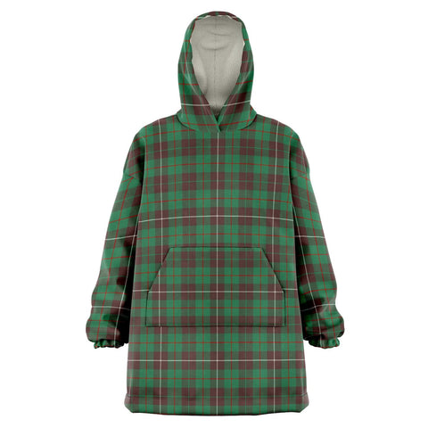 Image of MacKinnon Hunting Ancient Snug Hoodie - Unisex Tartan Plaid Front
