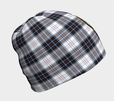 MacRae Dress Modern Tartan Clan Crest Beanie