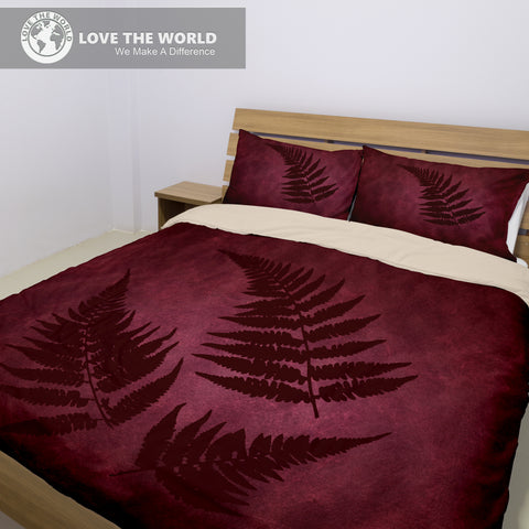 The Special Edition of New Zealand Fern Bedding Set !
