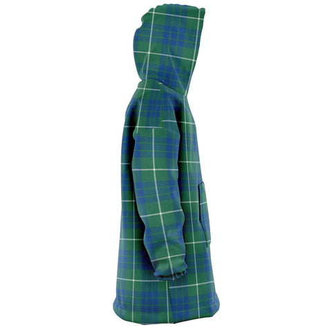 Hamilton Hunting Ancient Snug Hoodie - Unisex Tartan Plaid Right