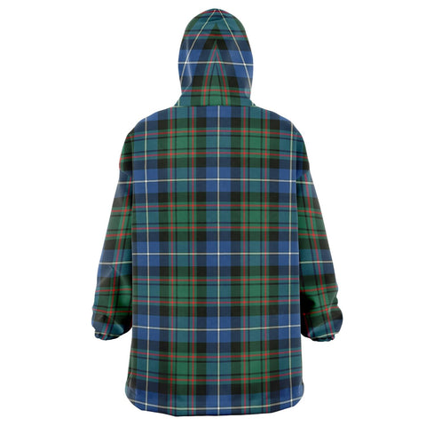 MacRae Hunting Ancient Snug Hoodie - Unisex Tartan Plaid Back
