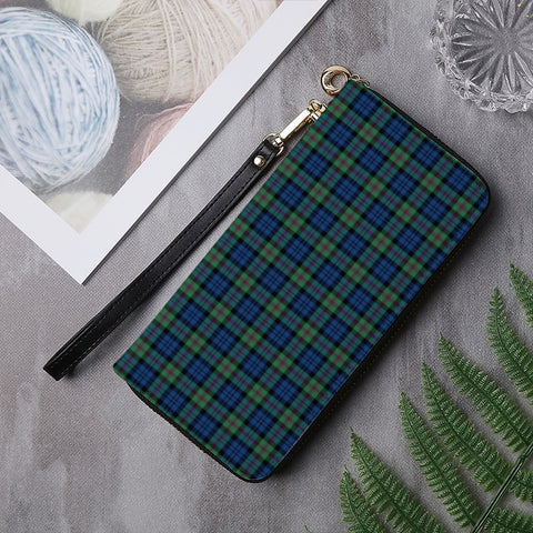 Image of BAIRD ANCIENT TARTAN ZIPPER WALLET HJ4