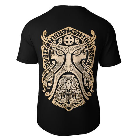 Image of Raven Viking All Over T-Shirt Bn10