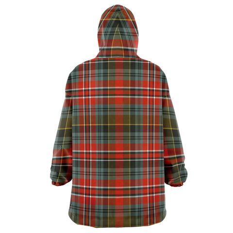 Image of MacPherson Weathered Snug Hoodie - Unisex Tartan Plaid Back