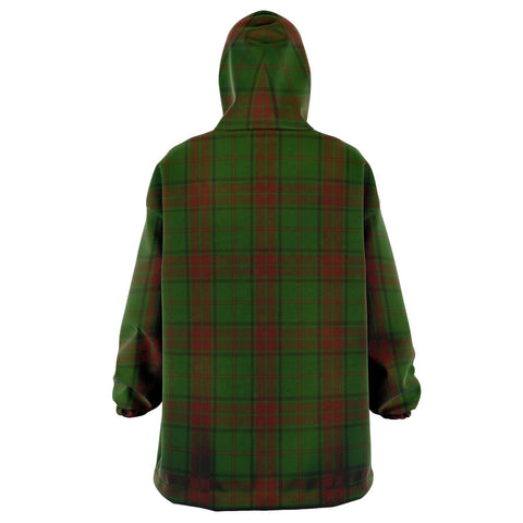 Image of Maxwell Hunting Snug Hoodie - Unisex Tartan Plaid Back