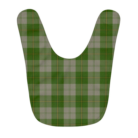 Cunningham Dress Green Dancers Fleece Baby Bib | Kids Scottish Clothing | Bib Garment