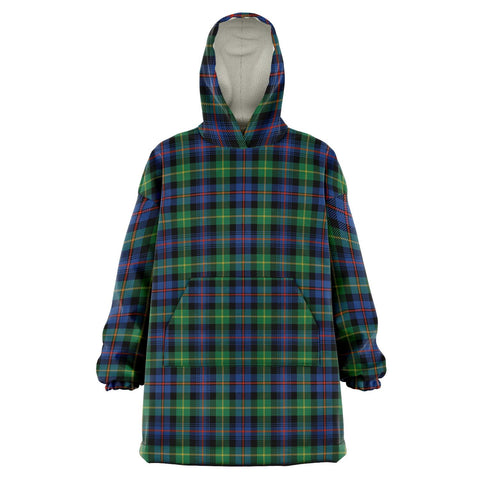 Image of Farquharson Ancient Snug Hoodie - Unisex Tartan Plaid Front
